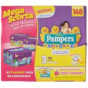 Pampers Progressi Midi X168