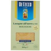De Cecco Lasagne all'Uovo N°112 Biologiche