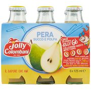 Jolly Colombani Pera Succo e Polpa 6 x 125 Ml