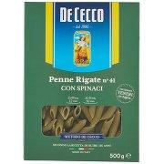 De Cecco Penne Rigate N° 41 con Spinaci