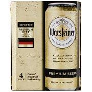 Warsteiner Premium Beer 4 x 0,5 l