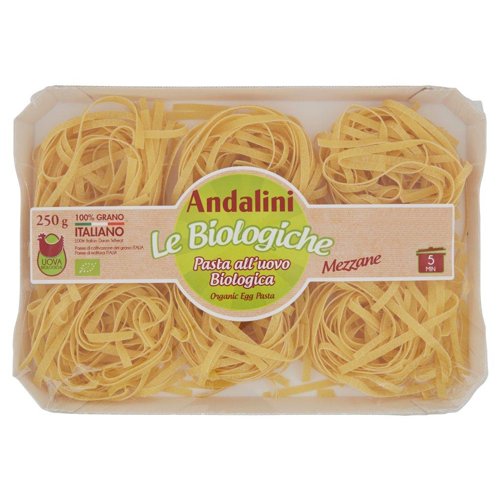 Andalini Le Biologiche Pasta all'Uovo Biologica Mezzane