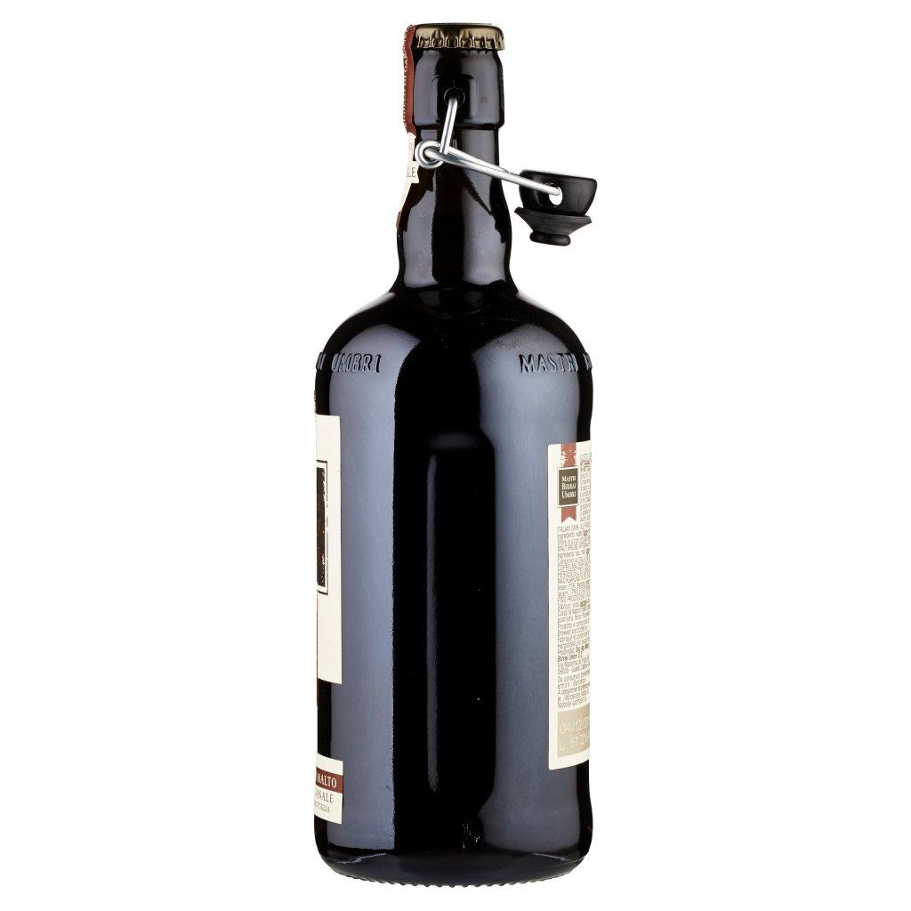 Mastri Birrai Umbri Cotta 74 Birra Doppio Malto Scura Artigianale Rifermentata in Bottiglia 0,75 l