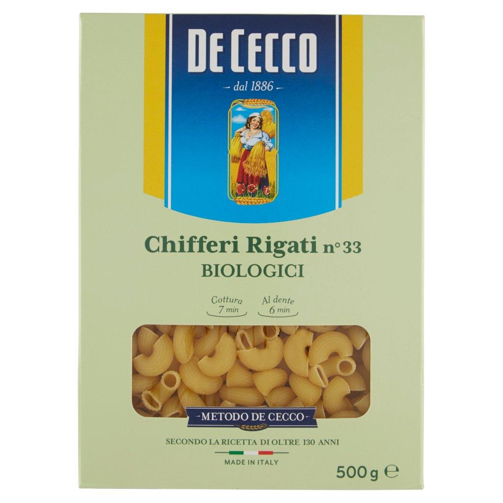 De Cecco Chifferi Rigati N°33 Biologici