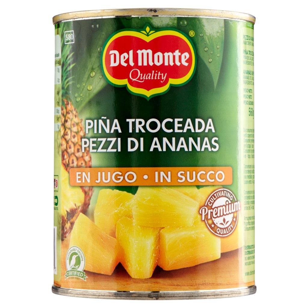 Del Monte Pezzi di Ananas in Succo