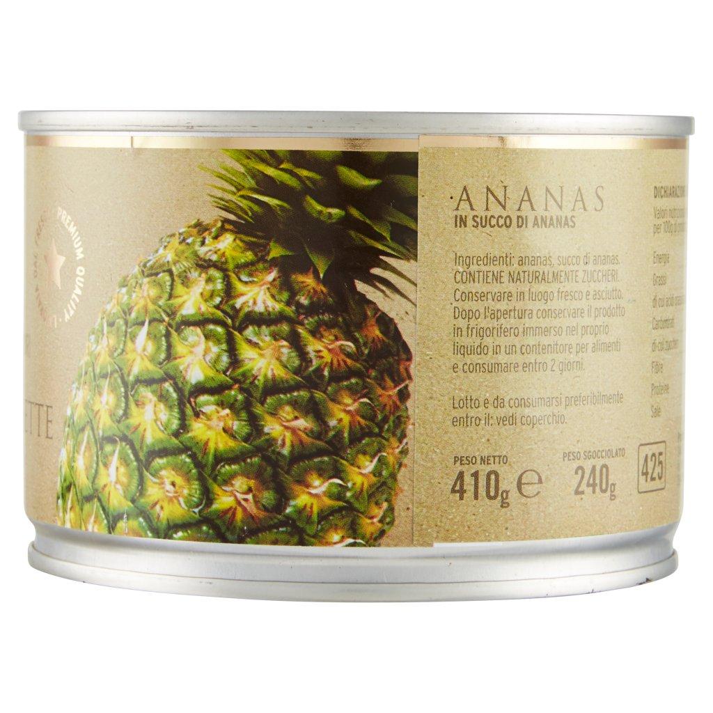 Fattoria dei Sapori Ananas a Fette al Naturale