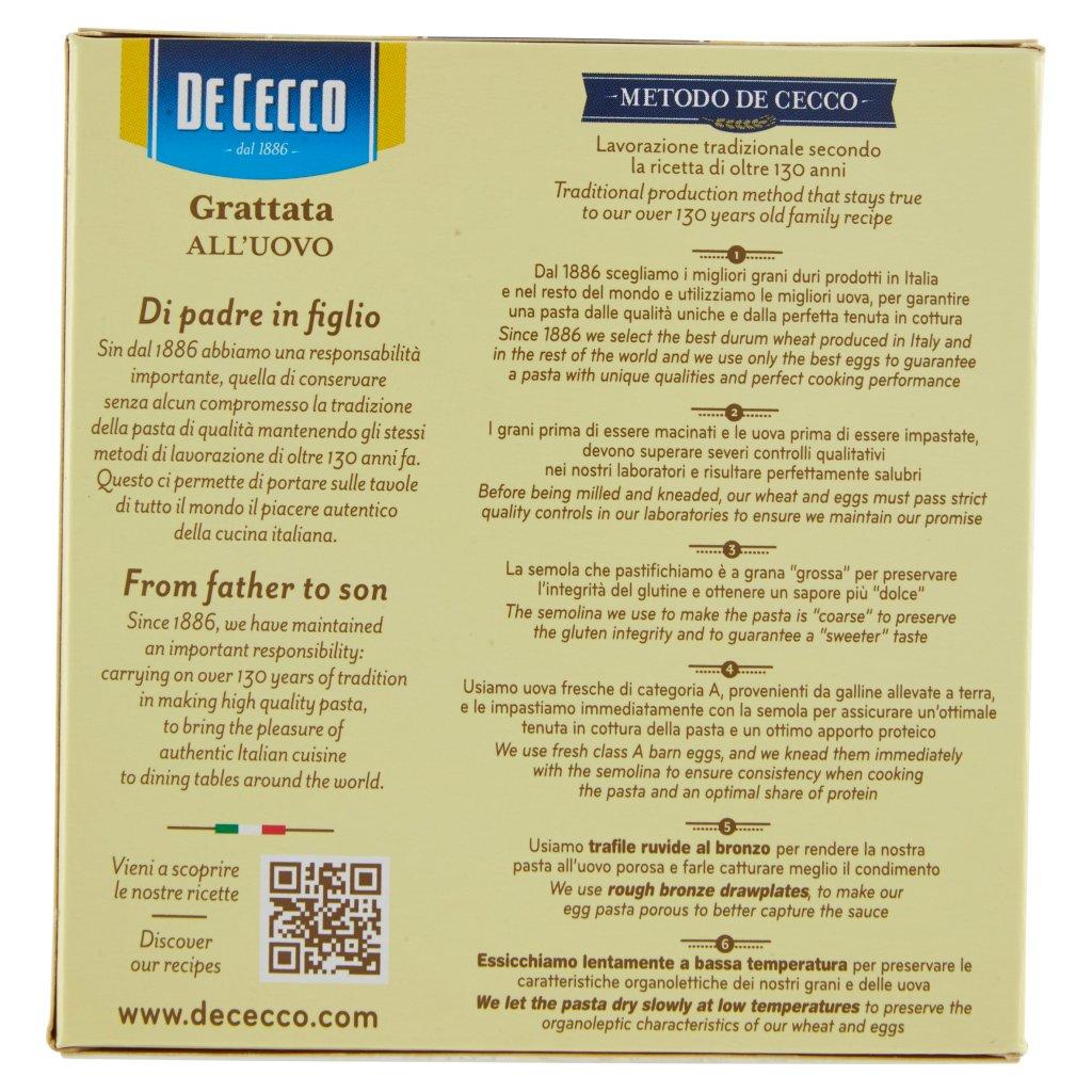 De Cecco Grattata N° 623 all'Uovo
