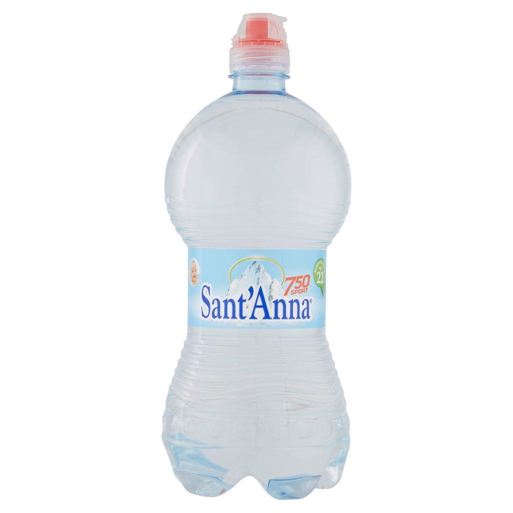 Sant'anna Naturale 750 Sport Sorgente Rebruant Vinadio 0,75 Litri