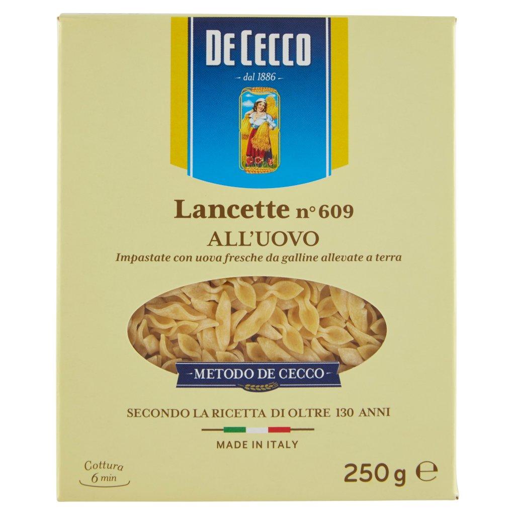 De Cecco Lancette N° 609 all'Uovo