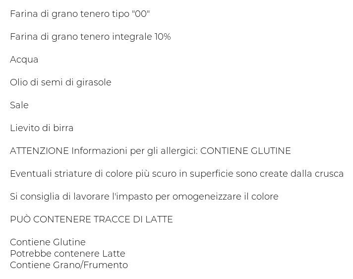 Gastronomia Piccinini Pizza - Pane - Tigelle - Gnocco con Farina Integrale