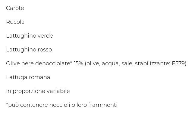 Bonduelle Carta delle Insalate Ricetta Olive