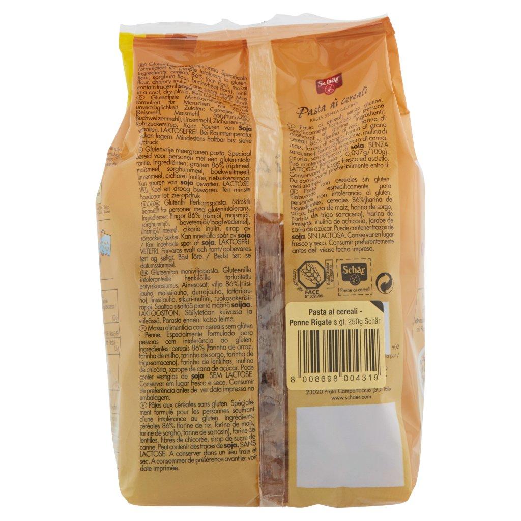 Schär Pasta ai Cereali Penne N. 50