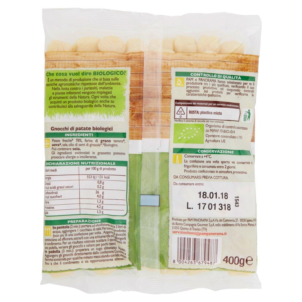 Bio Gnocchi di Patate Confezione 400 G 2