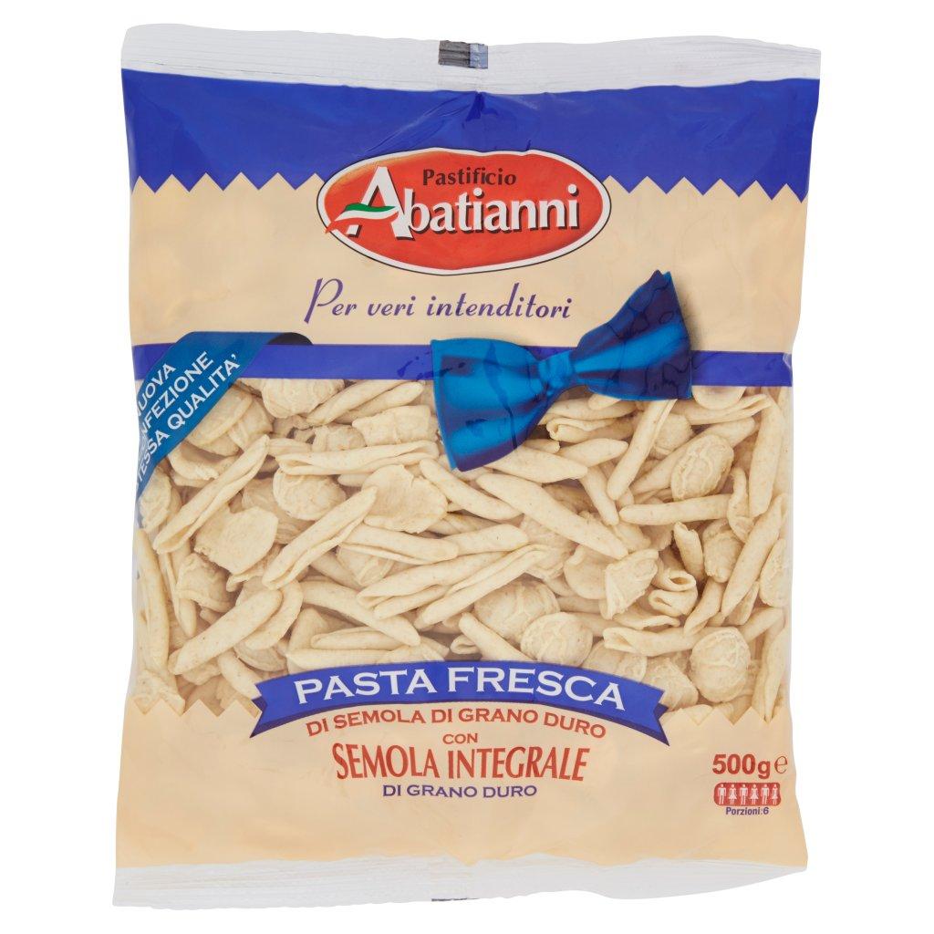 Pastificio Abatianni Pasta Fresca Maritati di Semola Integrale