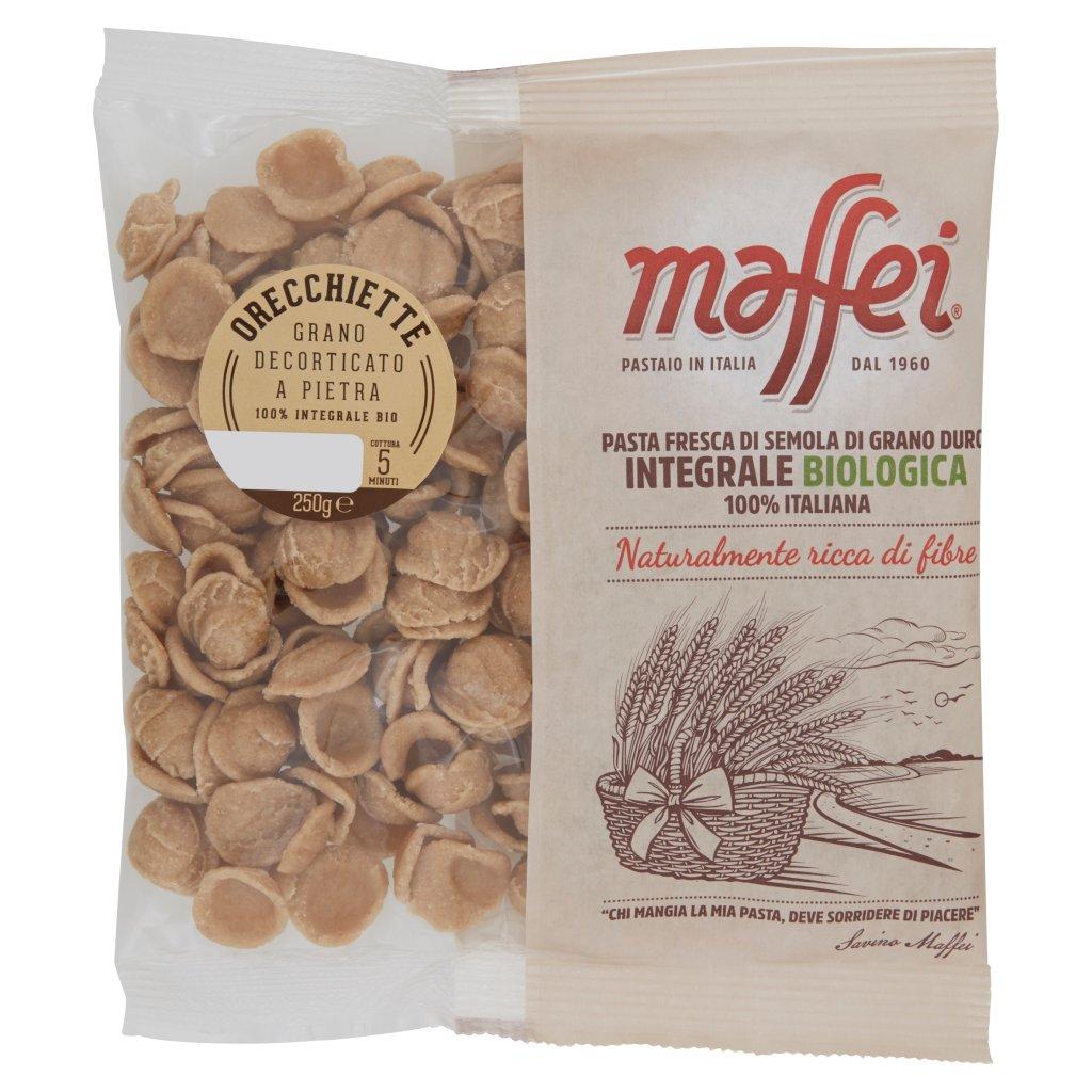 Maffei Orecchiette Grano Decorticato a Pietra 100% Integrale Bio