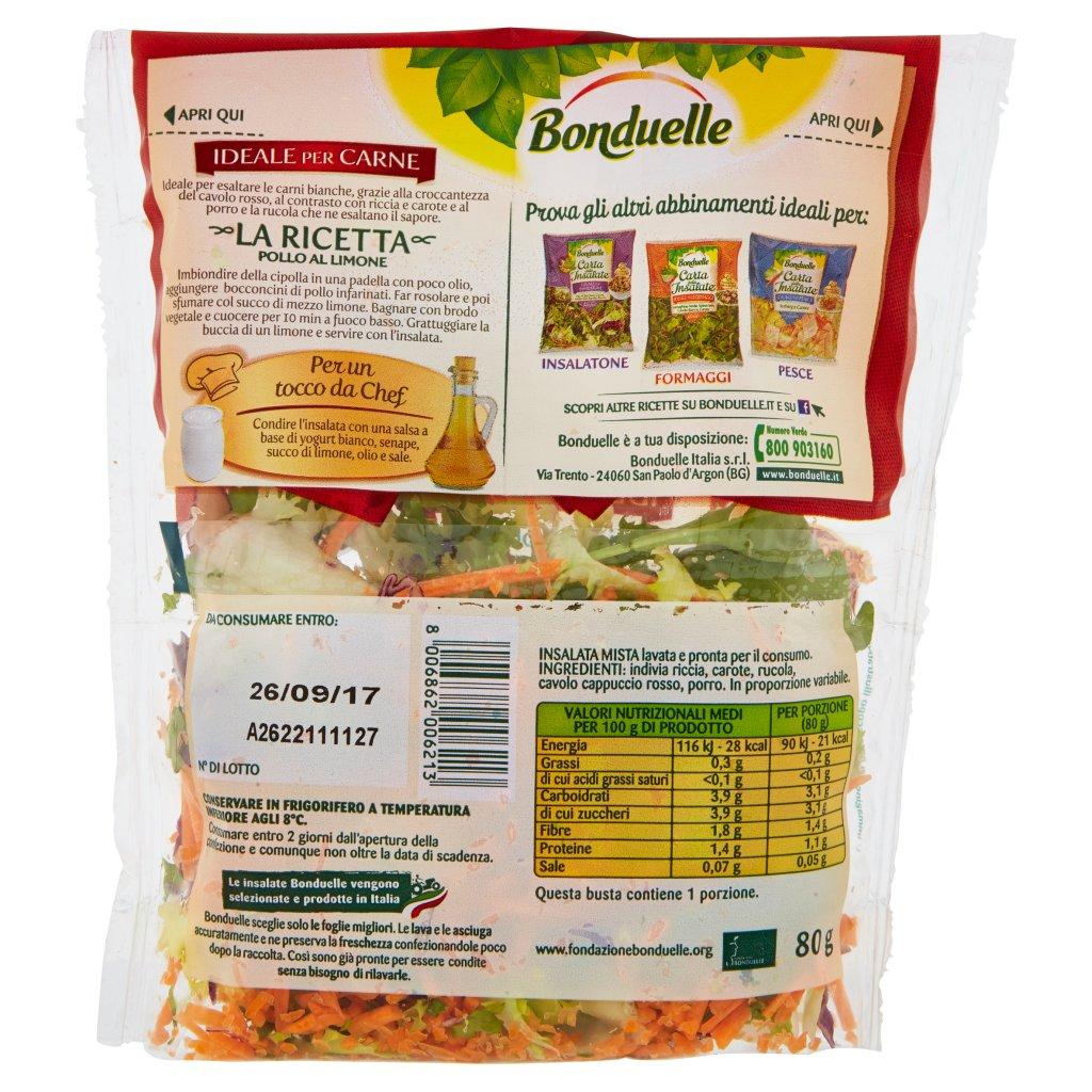 Bonduelle Carta delle Insalate Ricetta Saporita Confezione 80 G 2