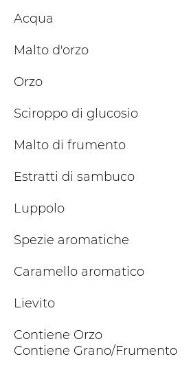 Birrificio Angelo Poretti Le Stagionali 7 Luppoli la Fiorita