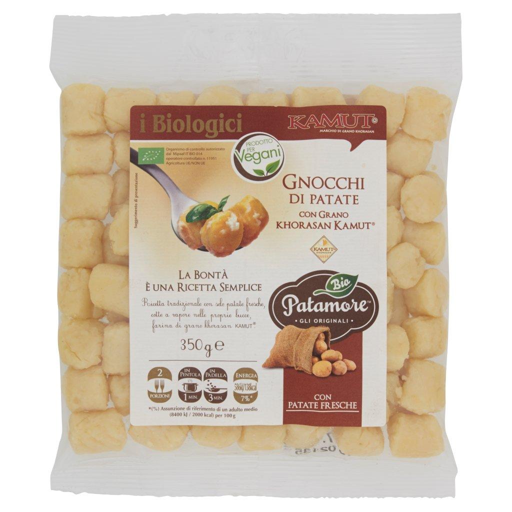 Patamore Bio I Biologici Gnocchi di Patate con Grano Khorasan Kamut