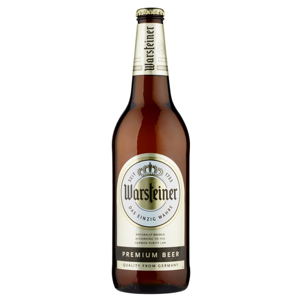 Warsteiner Premium Beer 0,66 l
