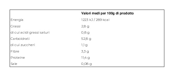Maffei Sfoglia Extrafine per Lasagne Biologica 10 Sfoglie
