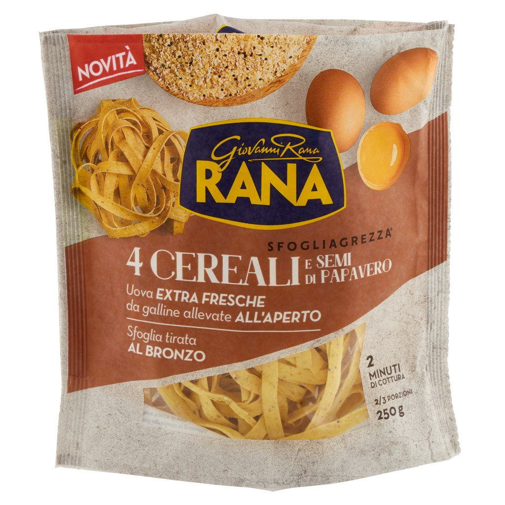 Giovanni Rana Sfogliagrezza 4 Cereali e Semi di Papavero