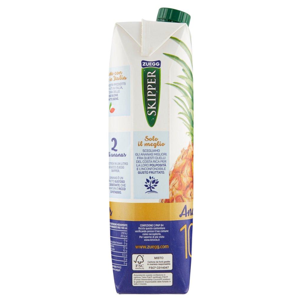 Zuegg Skipper 100% Succo Ananas Confezione 1000 Ml 3
