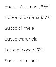 Innocent Smoothie Ananas, Banana e Cocco