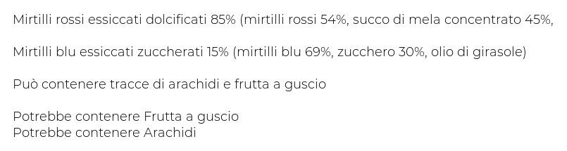 Eurocompany Bacche del Benessere Mix di Mirtilli Rossi e Blu