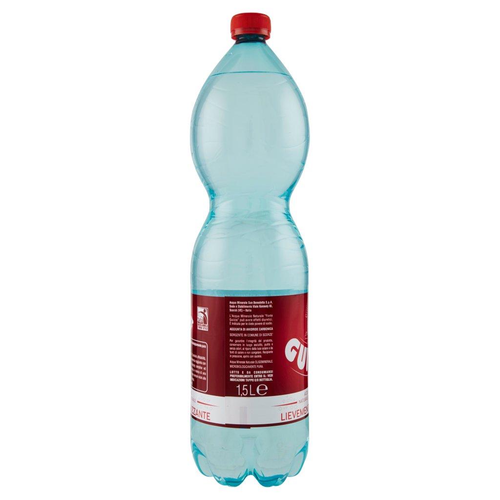 Guizza Acqua Minerale Fonte Leggermente Frizzante 1,5l