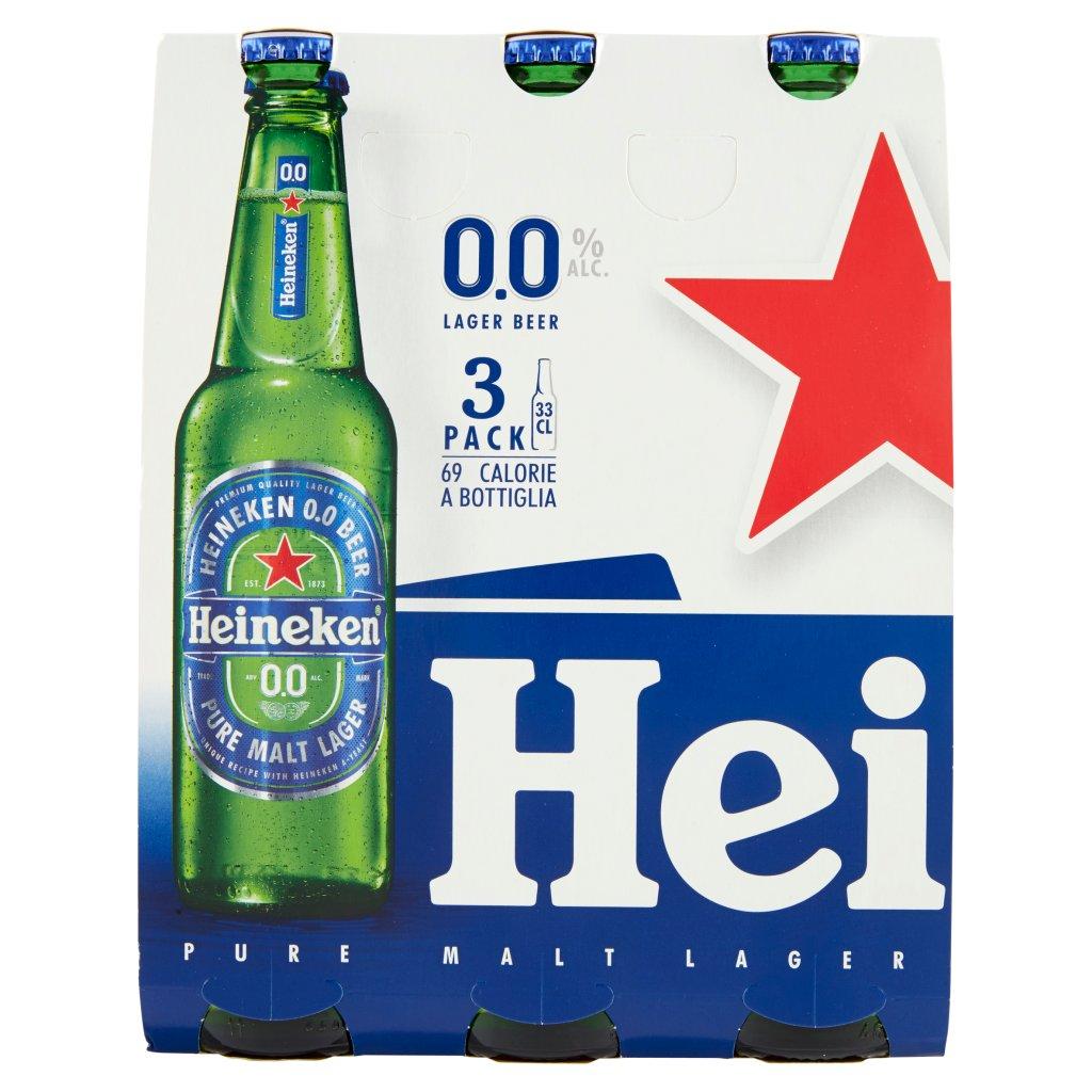Heineken 0.0 Confezione 3X33Cl 2