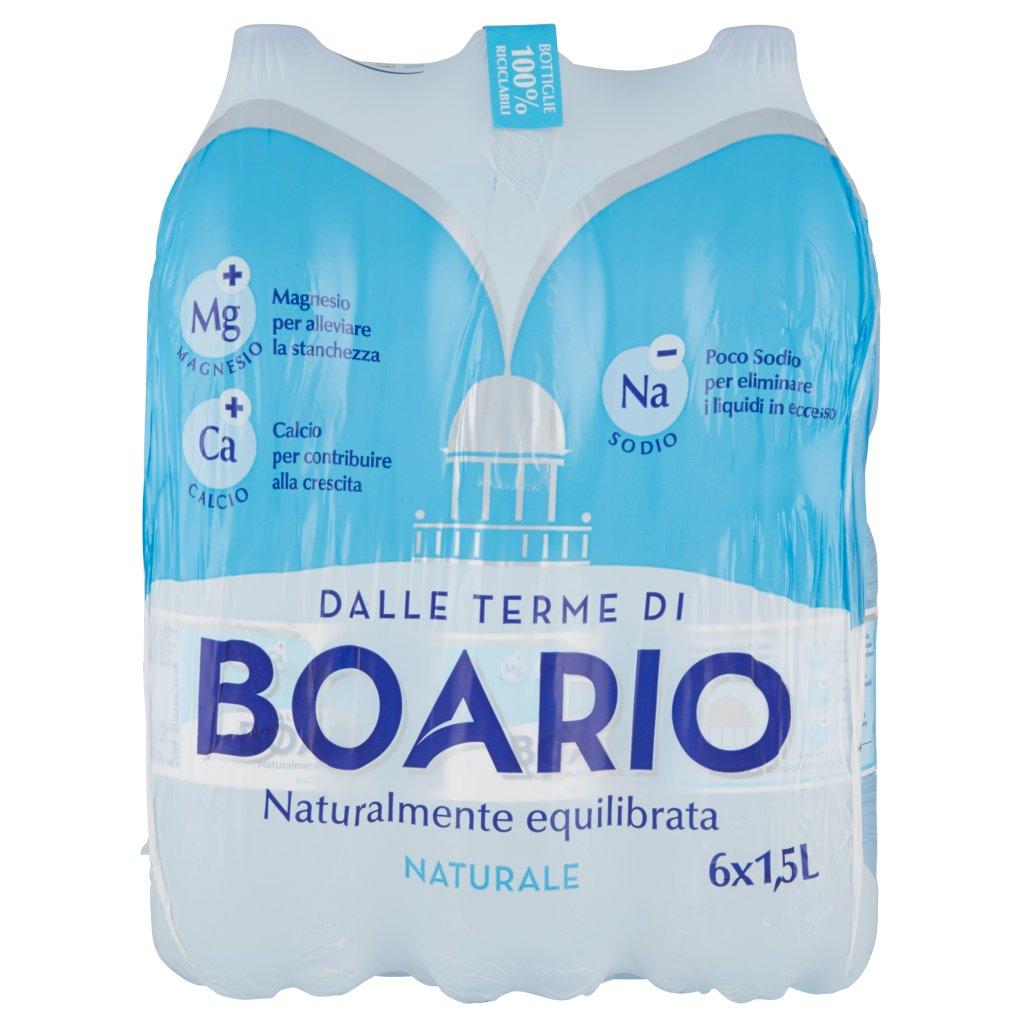 Boario Naturale 6 x 1,5 l