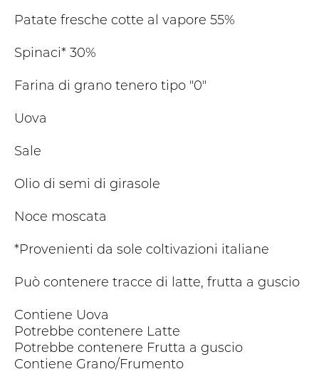 Fresche Bontá Gnocchi agli Spinaci