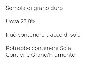 Buitoni Le Rasagnole Tagliatelle all'Uovo N.6