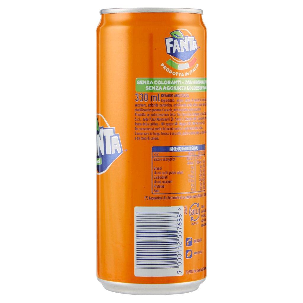 Fanta Orange Lattina