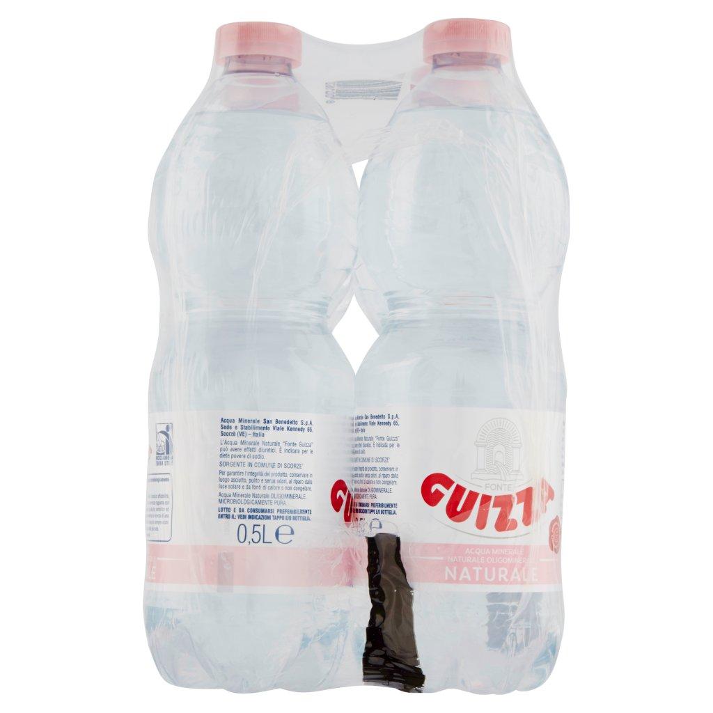 Guizza Acqua Minerale Fonte Naturale 6 x 0,5l