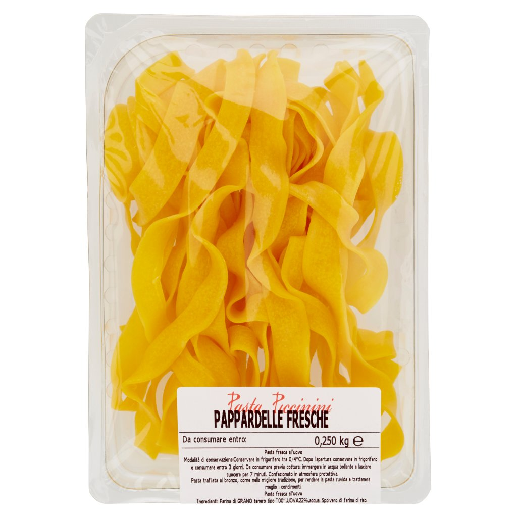 Pasta Piccinini Pappardelle Fresche 0,250 Kg