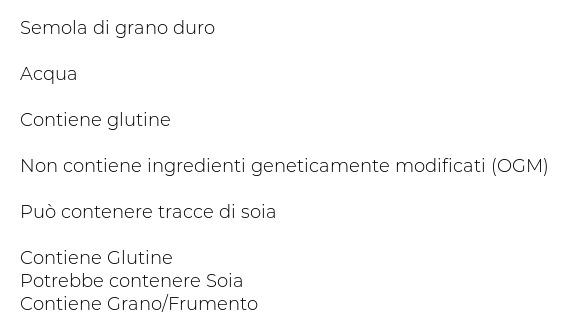 Pasta Reggia 19. Spaghetti