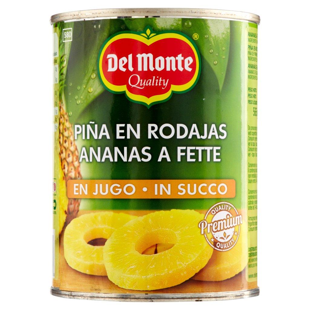 Del Monte Ananas a Fette in Succo