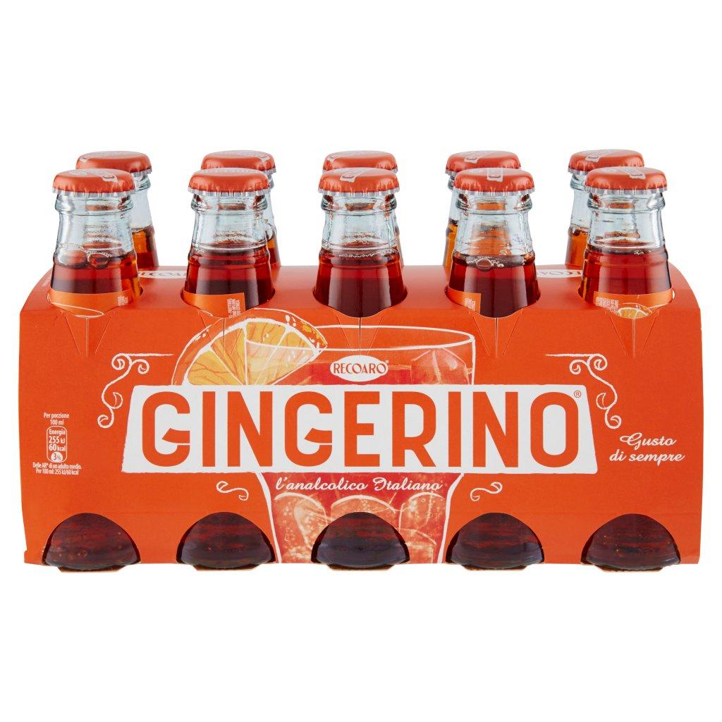 Recoaro Gingerino, Aperitivo Analcolico 10cl x 10