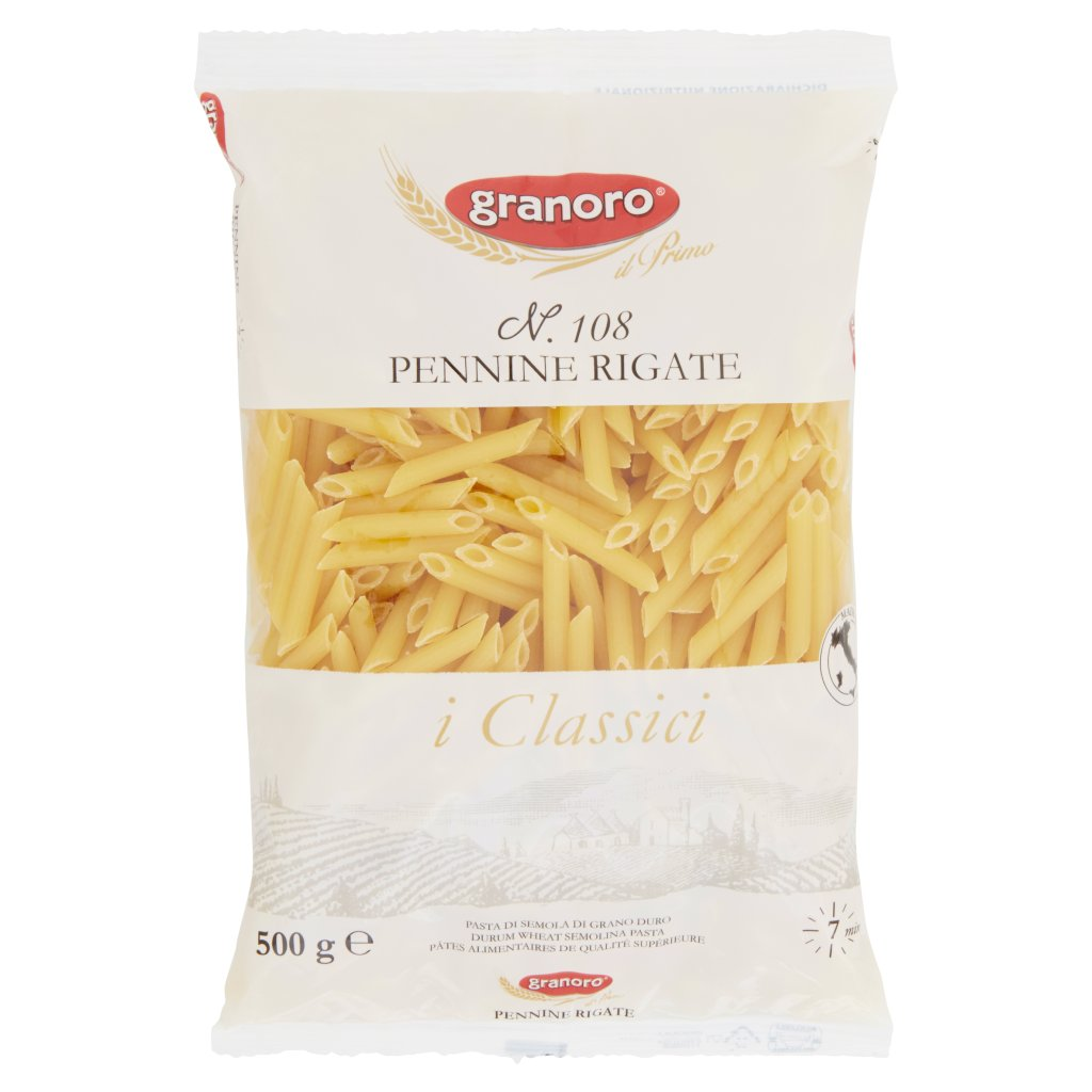 Granoro I Classici N. 108 Pennine Rigate