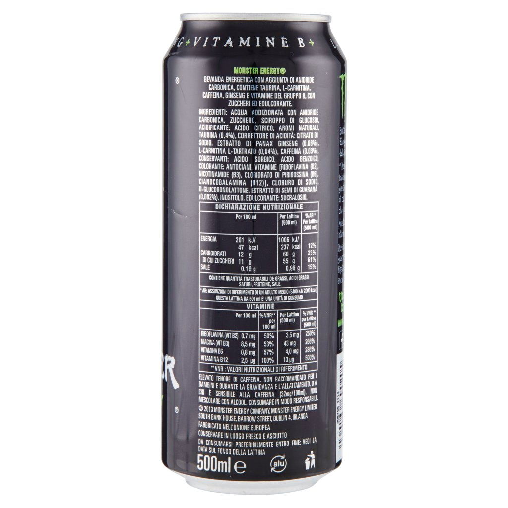 Monster Green da 0,5 l