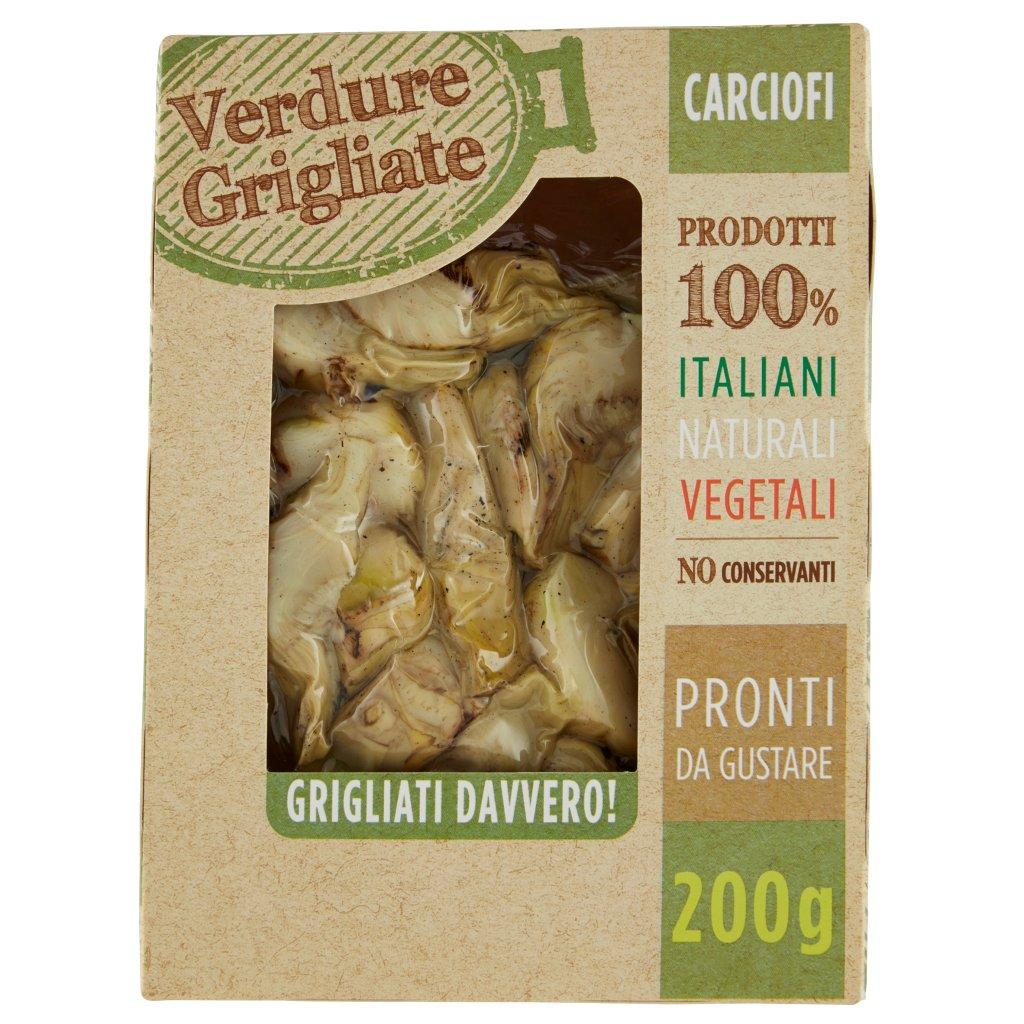 Verdure Grigliate Carciofi