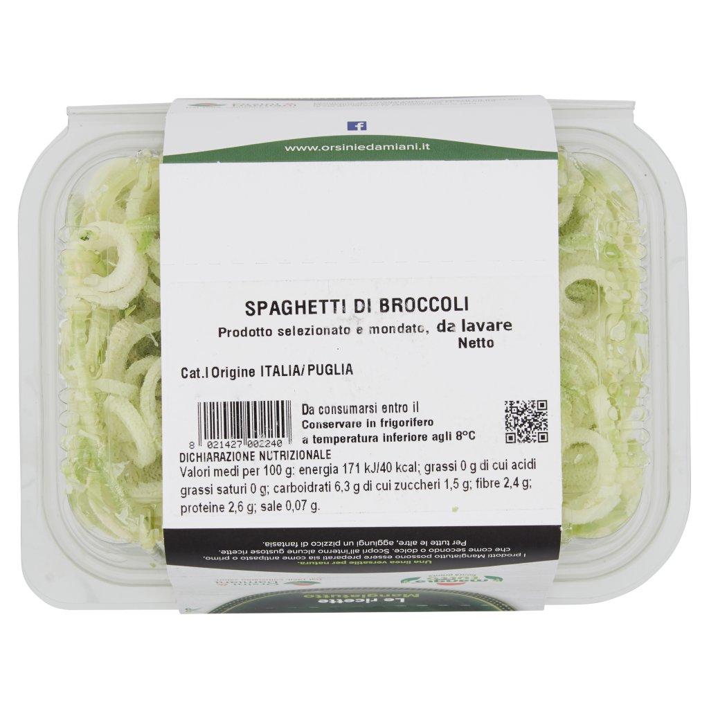 Mangiatutto Spaghetti di Broccoli 0,250 Kg