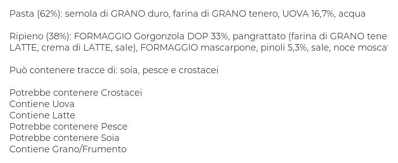 Antonio Amato Cappelletti Gorgonzola Dop e Pinoli