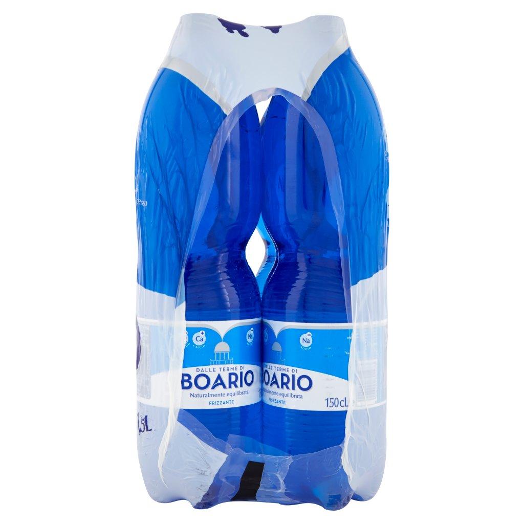Boario Frizzante 6 x 1,5 l Imballaggio 6 Bottiglie Da 1,5 L 3