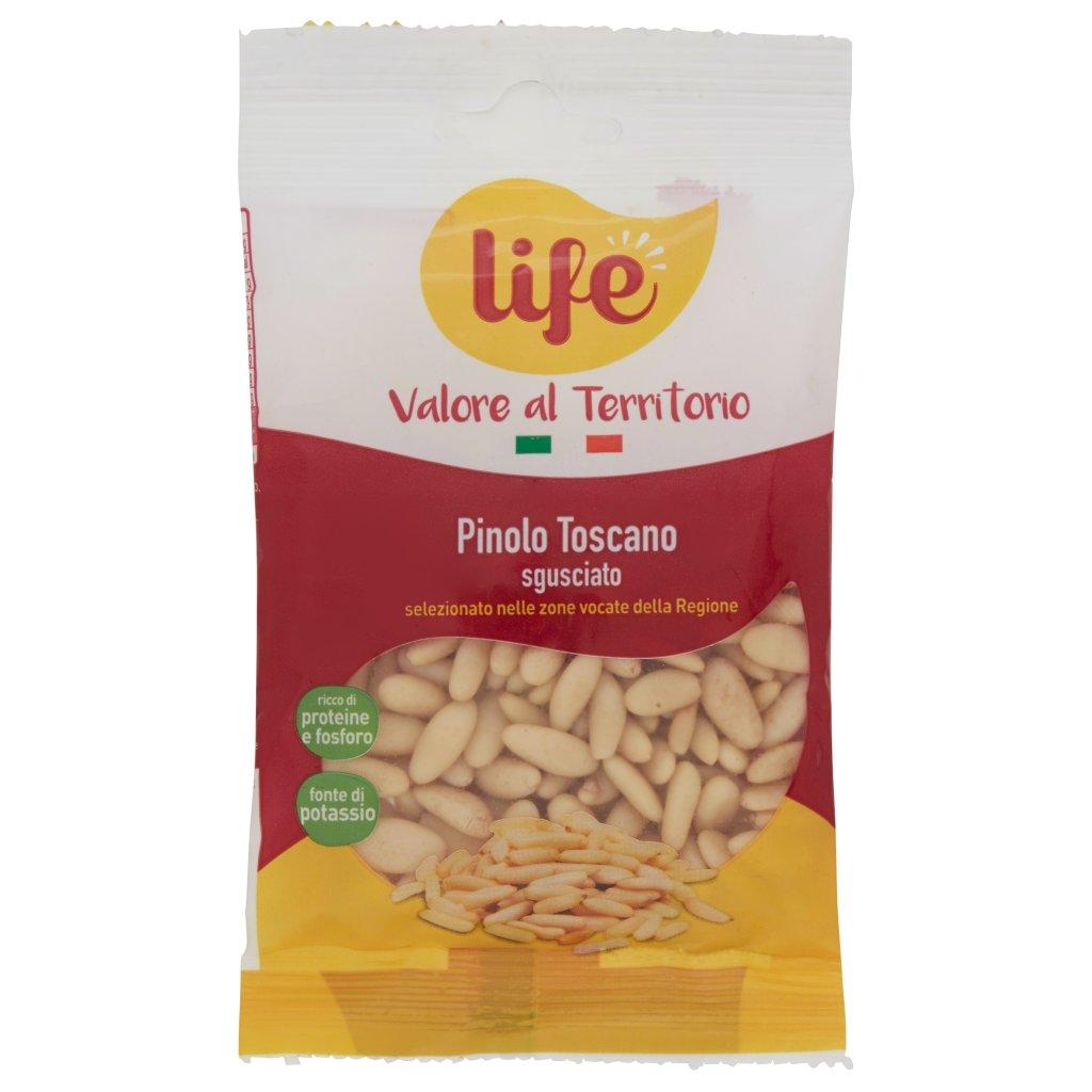 Life Valore al Territorio Pinolo Toscano Sgusciato Confezione 40 G 1