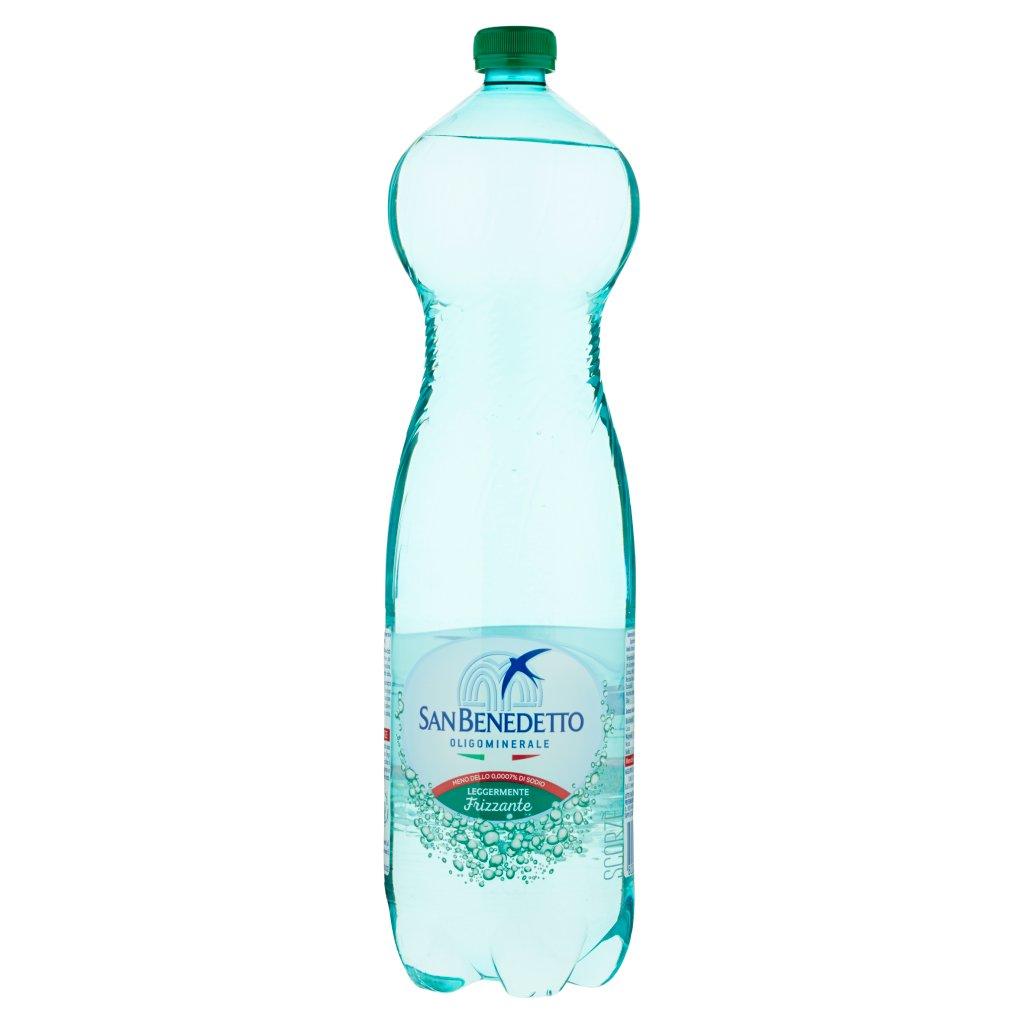 San Benedetto Acqua Minerale Legg. Frizzante Pet 1,5 l