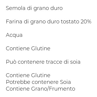 Masserie del Salento Cavatelli con Grano Arso