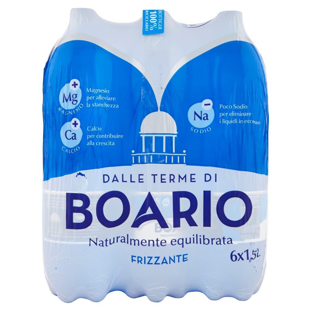 Boario Frizzante 6 x 1,5 l Imballaggio 6 Bottiglie Da 1,5 L 2