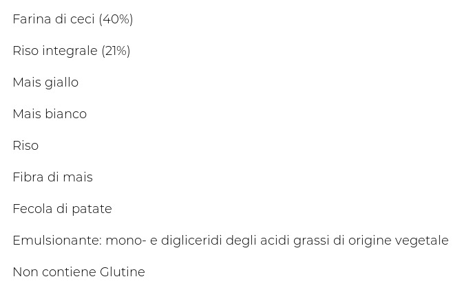 Rummo Ceci di Toscana e Riso Integrale Penne Rigate N° 66